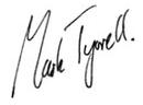 Mark Tyrrell Signature