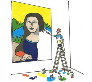 Learn to be an artist, not paint by numbers