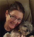 Tammy and her lovely wee dog :)