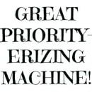 Priority erizing machine