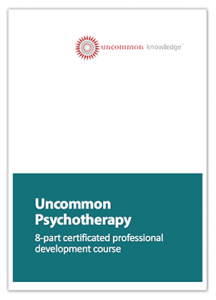 Uncommon Psychotherapy Course Cover