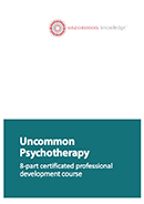 Uncommon Psychotherapy book cover