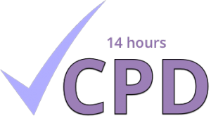 Continuing Professional Development logo (14 hours)