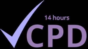 Continuing Professional Development logo (14 hours)