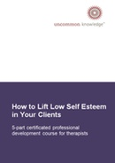 Self Esteem Practitioners Course book cover