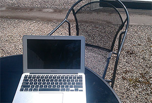 Working from Roof