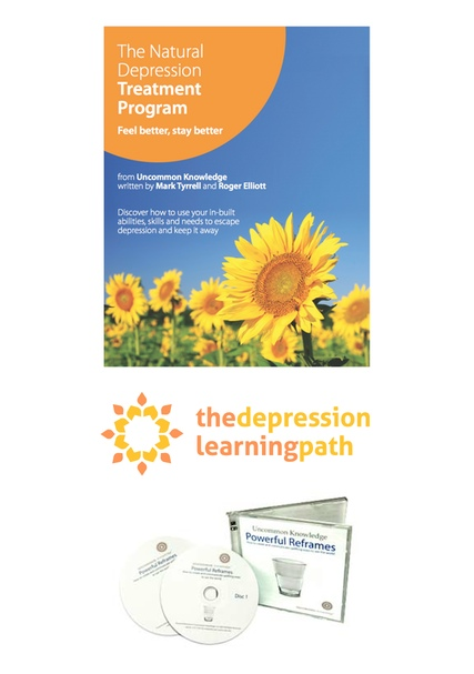What's included in the How To Lift Depression Course (fig. 2)