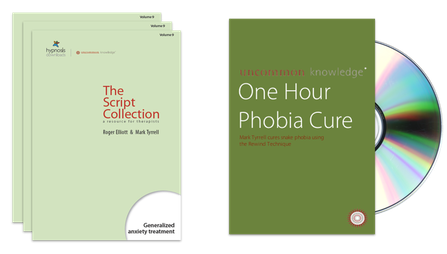 Hypnosis Downloads script collection and the One Hour Phobia Cure DVD